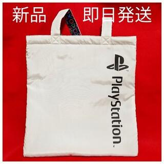 ジーユー(GU)の新品 GU PlayStation トートバッグ ホワイト ロゴ プレステ(トートバッグ)