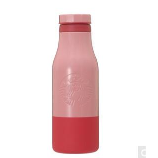 スターバックスコーヒー(Starbucks Coffee)のスターバックス ステンレスロゴボトル バイカラー ピンク 473ml (タンブラー)