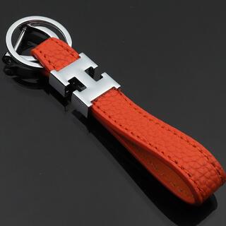 最安値❗️H型ロゴのキーホルダー/バッグチャーム⭐︎(キーホルダー)