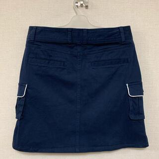 【値引き】ヒマラヤ ゴルフスカート 秋冬用 紺色  レディース L Lサイズ(ウエア)