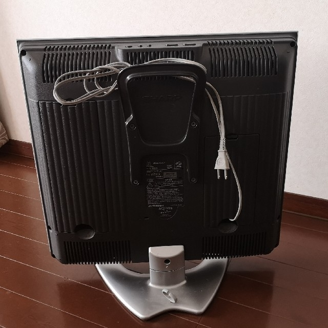 AQUOS(アクオス)のテレビ ゲーム用 (シャープ 20インチ) スマホ/家電/カメラのテレビ/映像機器(テレビ)の商品写真