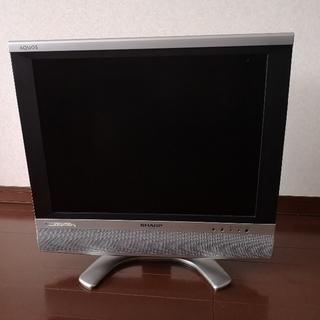 アクオス(AQUOS)のテレビ ゲーム用 (シャープ 20インチ)(テレビ)
