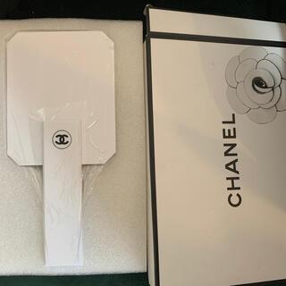 CHANEL - 最終お値下げ CHANEL ミラー ホワイト 新品