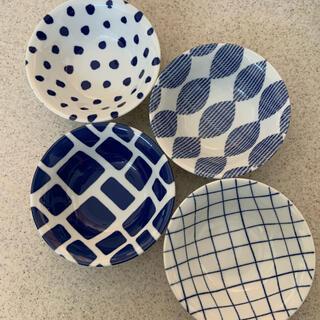 タチキチ(たち吉)の【新品未使用品】藍小町 深皿セット(食器)
