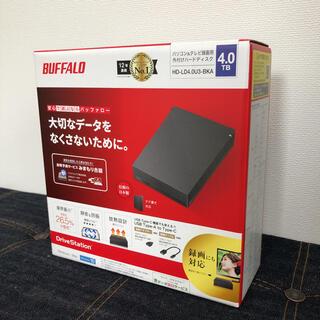 Buffalo - BUFFALO 新品 HD-LD4.0U3-BKA 録画用HDD (4K対応)