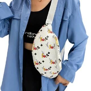 ディズニー(Disney)の新品☆ミッキーマウス ボディバッグ(ボディバッグ/ウエストポーチ)