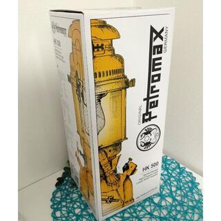ペトロマックス(Petromax)のPetromax HK500 圧力式 灯油ランタン ブラス 訳ありの最安値!(ライト/ランタン)