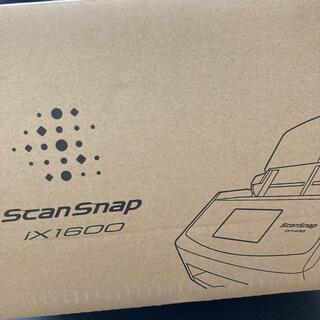 フジツウ(富士通)の【新品未開封】Scansnap ix1600 ブラック 黒(PC周辺機器)