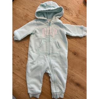 ベビーギャップ(babyGAP)の【良品】GAP BABY 3ヶ月〜6ヶ月 サロペット ロンパース オーバーオール(ロンパース)