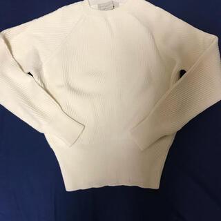 ステラマッカートニー(Stella McCartney)のステラマッカートニー定価12万 ホワイトラグランウールニット(ニット/セーター)