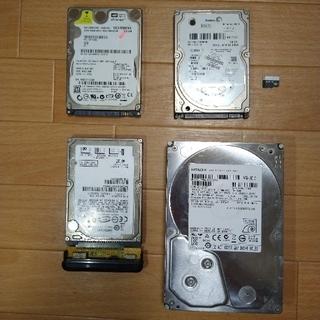 ヒタチ(日立)のHDD 2TB 日立製(おまけ付き)(PC周辺機器)