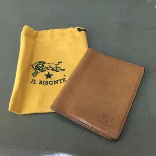 イルビゾンテ(IL BISONTE)のイタリア製 IL BISONTE イルビゾンテ パスケース USED(パスケース/IDカードホルダー)