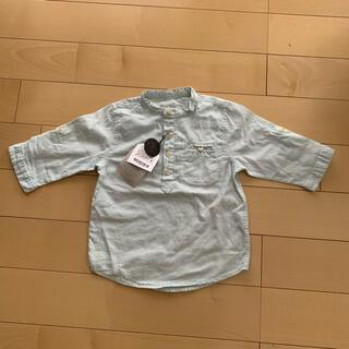 ザラキッズ(ZARA KIDS)の【新品】ZARA BOYS シャツ 104cm(ブラウス)