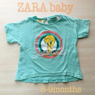 ザラ(ZARA)のZARA BABY トゥイーティー Tシャツ トップス 74㎝(Tシャツ)