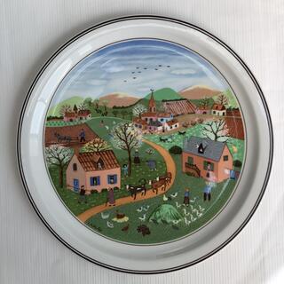 ビレロイアンドボッホ(ビレロイ&ボッホ)のビレロイ&ボッホ LAPLAU絵皿🌸春(置物)