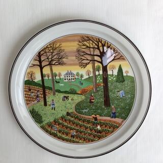 ビレロイアンドボッホ(ビレロイ&ボッホ)のビレロイ&ボッホ LAPLAU絵皿🍁秋(置物)