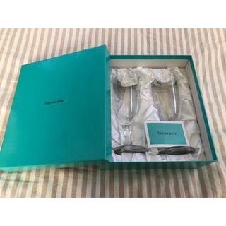 ティファニー(Tiffany & Co.)のTiffany& Co. ペアワイングラス(グラス/カップ)