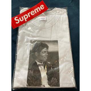 シュプリーム(Supreme)の【ジャスティスビーバー着用】supreme マイケルジャクソン Tee  M(Tシャツ/カットソー(半袖/袖なし))