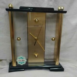 オリエント(ORIENT)の昭和感のレトロな ORIENT クウォーツ置時計 OQ O24AZ(置時計)