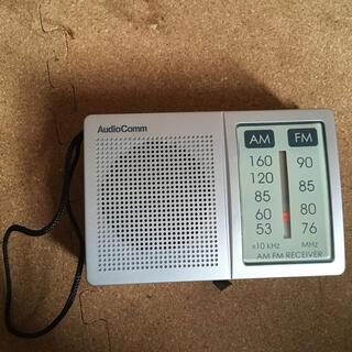 オームデンキ(オーム電機)の携帯ラジオ 動作確認済み オーム電機(ポータブルプレーヤー)