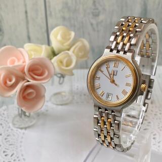 ダンヒル(Dunhill)の【美品】dunhill ダンヒル 腕時計 エリート レディース ゴールド 2ロウ(腕時計)