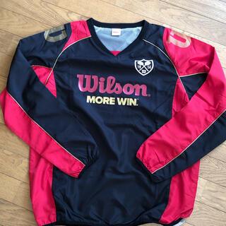 ウィルソン(wilson)のウインドブレーカー(プルオーバータイプ)メンズ L(ナイロンジャケット)