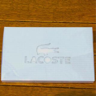 ラコステ(LACOSTE)の2枚セット!LACOSTE タオルハンカチ(タオル/バス用品)