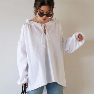 ザラ(ZARA)のflugge Dating blouse (シャツ/ブラウス(長袖/七分))