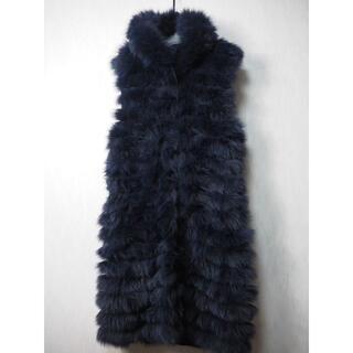 セオリーリュクス(Theory luxe)の定価26万 セオリーリュクス FOXファーベスト 38(毛皮/ファーコート)