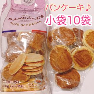 コストコ(コストコ)の【春セール♪】美味しい♪ ミニパンケーキ 10袋(菓子/デザート)