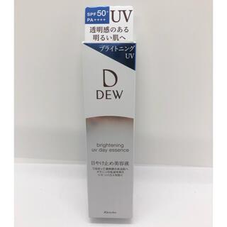 デュウ(DEW)のDEW ブライトニング UV デイエッセンス 40g 日やけ止め美容液(日焼け止め/サンオイル)