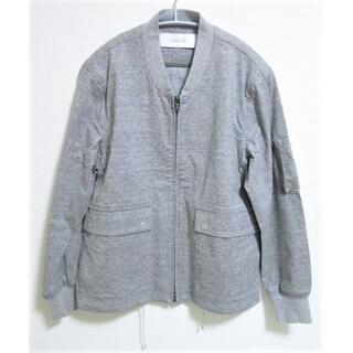 ヤエカ(YAECA)の未使用 カーリー CURLY アビエーターブルゾン 日本製☆ボンバージャケット(ブルゾン)