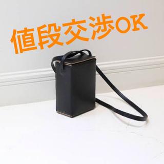 ワンエルディーケーセレクト(1LDK SELECT)のAeta BOX SHOULDER S / BLACK (LE40) (ショルダーバッグ)