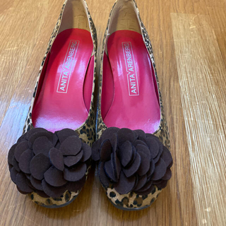 アニタアレンバーグ(ANITA ARENBERG)の靴 レディース 24.5㎝(ハイヒール/パンプス)