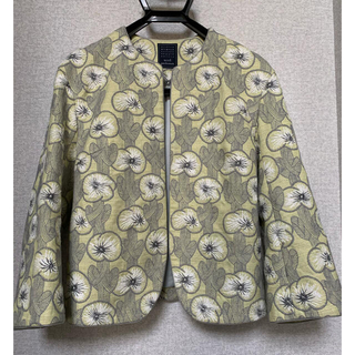 mina perhonen - ミナペルホネン  hanakaze ジャケット 36 完売 新品同様
