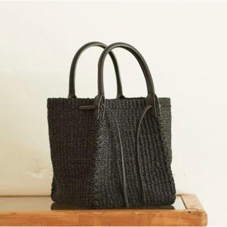 プラージュ(Plage)の【OUTERSUNSET】 abaca basket bag(かごバッグ/ストローバッグ)