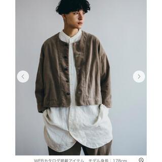 ネストローブ(nest Robe)のnest Robe コーデュロイショートジャケット(その他)