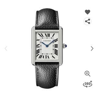 カルティエ(Cartier)のカルティエ タンクソロ LM用 アリゲーターベルト(レザーベルト)
