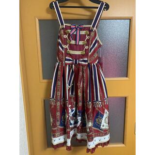 アンジェリックプリティー(Angelic Pretty)のガーディアンユニコーンジャンパースカート(ひざ丈ワンピース)
