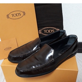 TOD'S - TOD'S トッズ イタリア製ローファー フラットシューズ