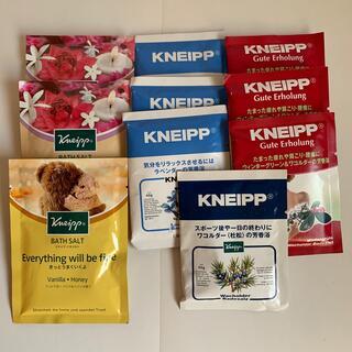 クナイプ(Kneipp)のクナイプ バスソルト 5種類10袋(入浴剤/バスソルト)