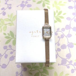 アガット(agete)のようちゃん 様 😊 agete   ㉗ 腕時計・稼動品✨(腕時計)