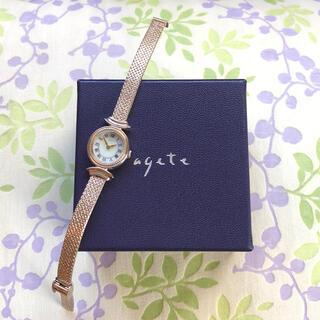 アガット(agete)のagete   ㊶ ソーラー腕時計・稼動品✨(腕時計)