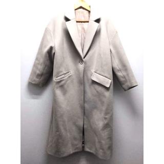 グレイル(GRL)のGRL(グレイル) ポケット付きオーバーサイズロングコート レディース アウター(チェスターコート)