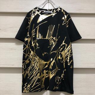 ミキオサカベ(MIKIO SAKABE)のでんぱ組.inc 愛☆まどんな ミキオサカベ Tシャツ ゴールド(アイドルグッズ)