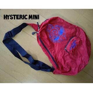ヒステリックミニ(HYSTERIC MINI)のHYSTERIC MINI ヒスミニ ショルダー 赤 バック(ショルダーバッグ)