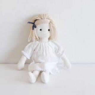 ボンポワン(Bonpoint)のcheck&stripe チェックアンドストライプ  お人形 キット セット(型紙/パターン)