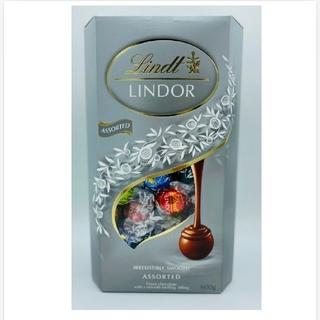 リンツ(Lindt)の【お試し品 】高級チョコ リンツ リンドールSilver Assort 16粒(菓子/デザート)