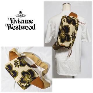 Vivienne Westwood - 《ヴィヴィアンウエストウッド》新品 春夏モデル ダンシングフラワーボディバッグ