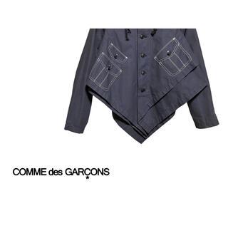 コムデギャルソン(COMME des GARCONS)のCOMME des GARCONS ポンチョ レイヤード ジャケット(ポンチョ)
